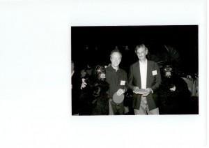 Pieter en...op een conferentie in de VS jaren '90