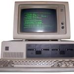 De eerste IBM-PC met PC-DOS/MS-DOS